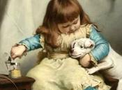 Charles Burton Barber, Victorian painter children pets.