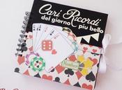 Album tema Poker ricordi Matrimonio theme wedding album