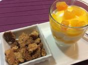 Chantilly yogurt geleé albicocche streussel