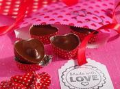 Cuori Valentino gianduia nocciola
