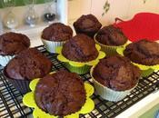 Muffin ciocolato quadrato