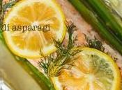 Salmone agli asparagi cartoccio