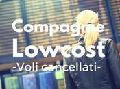 Compagnie Lowcost voli cancellati