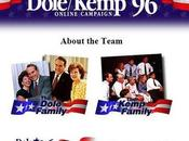 Primi Siti delle Elezioni Americane 1996