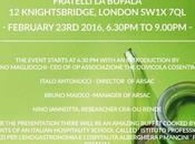 Olivicola Cosentina ARSAC promozione dell'extravergine calabrese Londra.