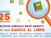 Caccia libro: laboratorio gratuito 5-10 anni biblioteca Macerata