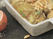 Tacchino fricassea carciofi, olive taggiasche pinoli
