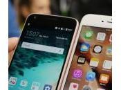 iPhone Plus: primo confronto