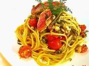 Spaghetti rigati triglie finocchietto