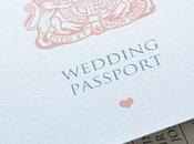 passaporto invitiamo tutti nostro matrimonio!