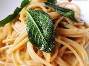 Spaghetti aglio, olio salvia