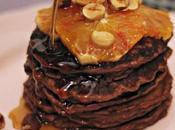 Pancake vegani arance nocciole