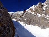 Sciare ghiacciaio della Marmolada