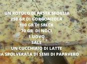 Torta salata speck gorgonzola noci