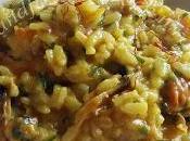 Cucinare l'Acticook: risotto gamberetti cozze zafferano, minuti