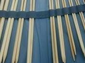 Vendita: coppie ferri bambù custodia originale maglia
