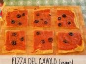 Pizza cavolo vegana