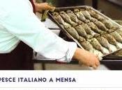 Sostenibile appetitoso, pesce fresco menu delle mense scolastiche sanitarie