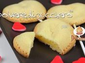 Biscotti stecco forma cuore ripieni crema pasticcera cioccolato