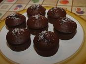Muffins cacao cuore cocco