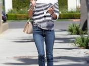 Alessandra Ambrosio Berverly Hills Chic Striped