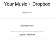 """Ascoltiamo nostra musica ovunque siamo semplice """"DropTunes"""""""