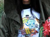 Parka, jeans T-shirt!