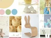 moodboard wednesday Easter bunny inspired