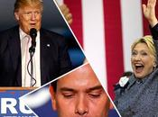 MegaTuesday: vincono Clinton Trump, Rubio ritira