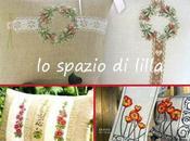 Schemi punto croce...Splendidi motivi floreali cuscini d'arredamento Cross stitch patterns...Stunning floral motifs cushions