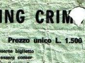 Quel giorno vidi King Crimson...