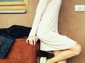 OOTD: Cream Knit Dress