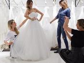 Melissa Satta prova l'abito sposa Atelier