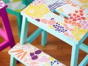 #DIY Ikea Bekvam sgabello scaletta: trasformazione