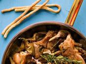 Coniglio Carciofaia Settimana della Cucina Pasqua, Calendario Cibo Italiano