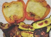 Peperoni ripieni frittata forno