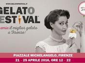 Gelato Festival prima tappa Firenze