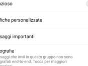 Aggiornamento WhatsApp Android Crittografia