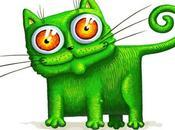 Volevo gatto verde