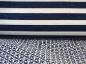 Tessuto rigato disegno cravatta abbigliamento