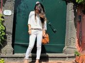 "Nonsolomoda#37: jeans bianchi ""tacco"" maculato"