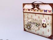 Scatola Valigia porta Album Suitcase holder