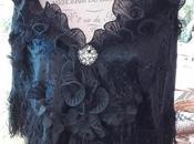 Scialle nero gotico chic