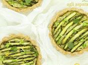 Tartellette vegan agli asparagi
