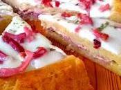Crostata patate filante mozzarella speck