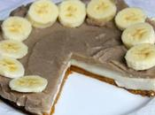 Cheesecake vegana alla banana
