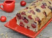 Plum-cake integrale all'acqua ciliegie