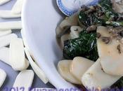 Gnocchi cinesi riso funghi maitake