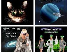 Fratelli Stellari: nuove canzoni ballare alieni.