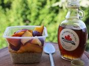 Risveglio Pigro Porridge Quinoa Pesche Nettarine Nectarine